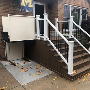 residential porch lift