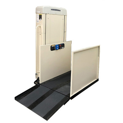 """53"""" Freedom Easy Ride II Residential Wheelchair Lift, Straight Left Access"""