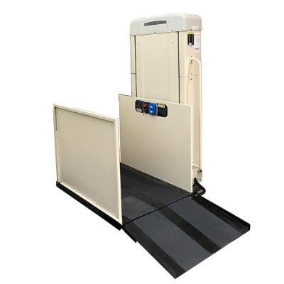 """53"""" Freedom Easy Ride II Residential Wheelchair Lift, Straight Right Access"""