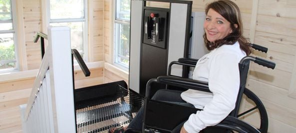 Outdoor Wheelchair Lifts for Home - Freedom Lift Systems