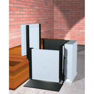 "Freedom 28"" Commercial Wheelchair Platform Lift - Adjacent Right"