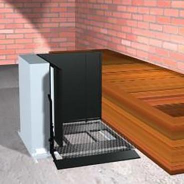 28 inch adjacent access porch lift