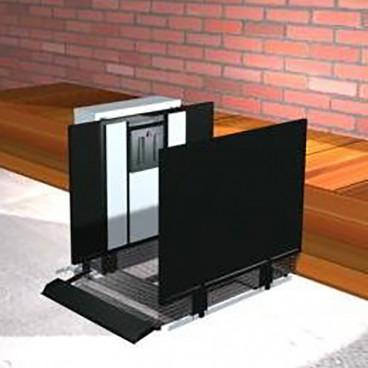 vertical platform lift for breezeway