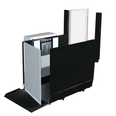 """28"""" Straight Left Access Commercial Wheelchair Platform Lifts"""