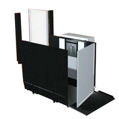 """28"""" Straight Right Access Commercial Wheelchair Platform Lifts"""