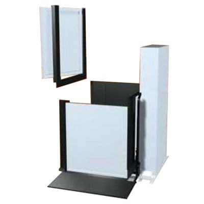 """52"""" Adjacent Right Access Commercial Wheelchair Platform Lifts"""