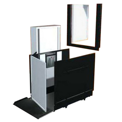 """52"""" Straight Left Access Commercial Wheelchair Platform Lifts"""