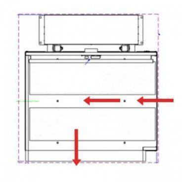 platform lift drawing