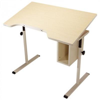 "Adjustable Tilt ADA Desk with Storage 40"" x 24"""