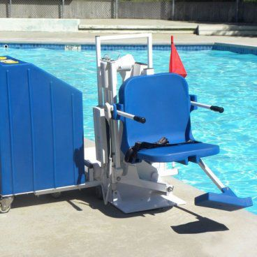 Patriot ADA Portable Pool Lift, 375 lb capacity