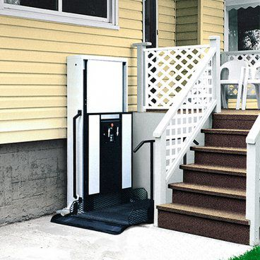 residential porch lift for wheelchair
