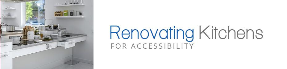 Renovating Kitchens for Wheelchair Accessibility