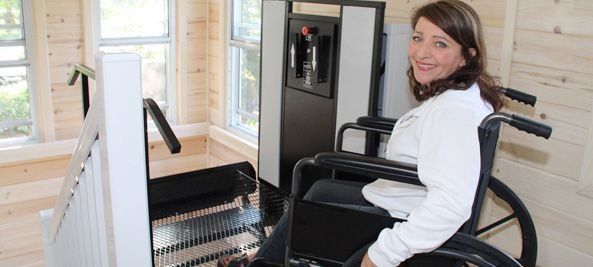 Wheelchair Lifts for Homes - Freedom Outdoor Porch Lifts