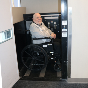 wheelchair access commercial lift