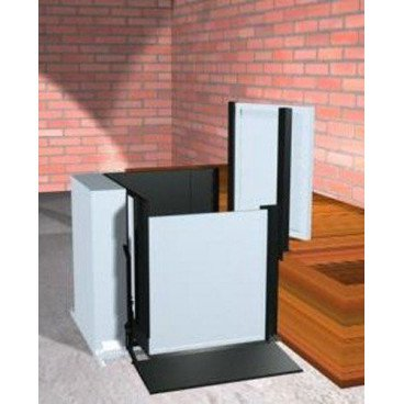 "Freedom 28"" Commercial Wheelchair Platform Lift - Adjacent Left"
