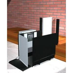 "Freedom 28"" Commercial Wheelchair Platform Lift - Straight Left"