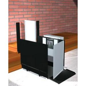 """Freedom 28"""" Commercial Wheelchair Platform Lift - Straight Right"""