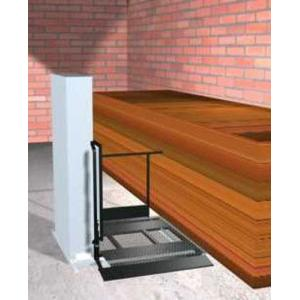 "Freedom 52"" Wheelchair Porch Lift for Home - Adjacent Left"