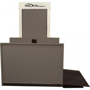 """53"""" Straight Right Easy Ride Commercial Vertical Platform Lifts"""