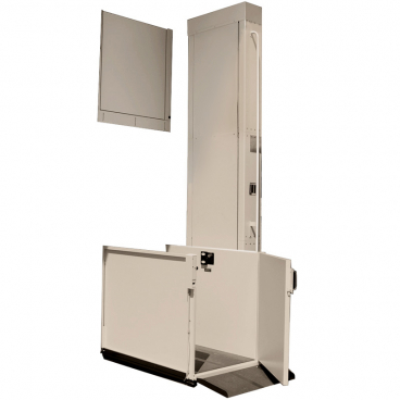 8 foot Easy Ride Residential Platform Lifts-RIGHT straight access