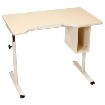 Adjustable ADA Desk with Storage 40 inches by 24 inches