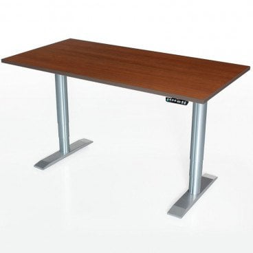 Powered Accessible ADA computer desk 60 inches