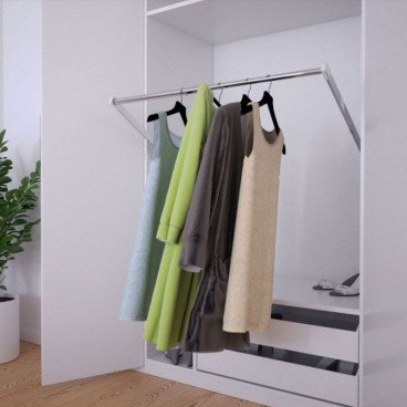 """Butler Electric Wardrobe Lift - Adjustable from 23.75""""-35.4"""""""