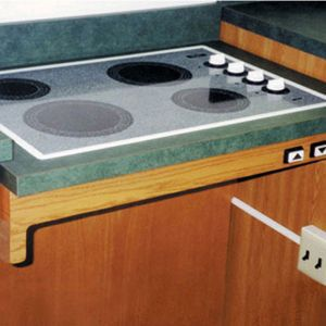 Approach Kitchen Cooktop Lift System - Handicap Accessible