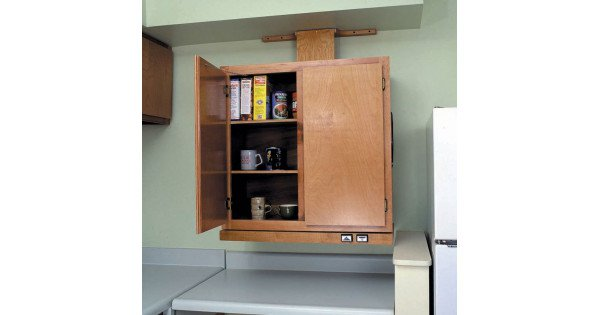 Approach Wall Cabinet Lift System Handicap Accessible