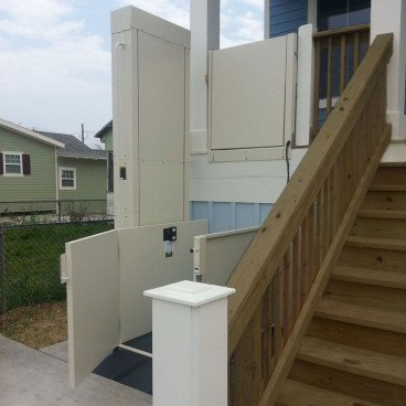 wheelchair lift for front door