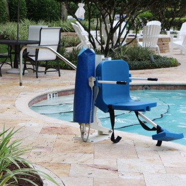 Comfort pool lift ADA compliant 350lb capacity