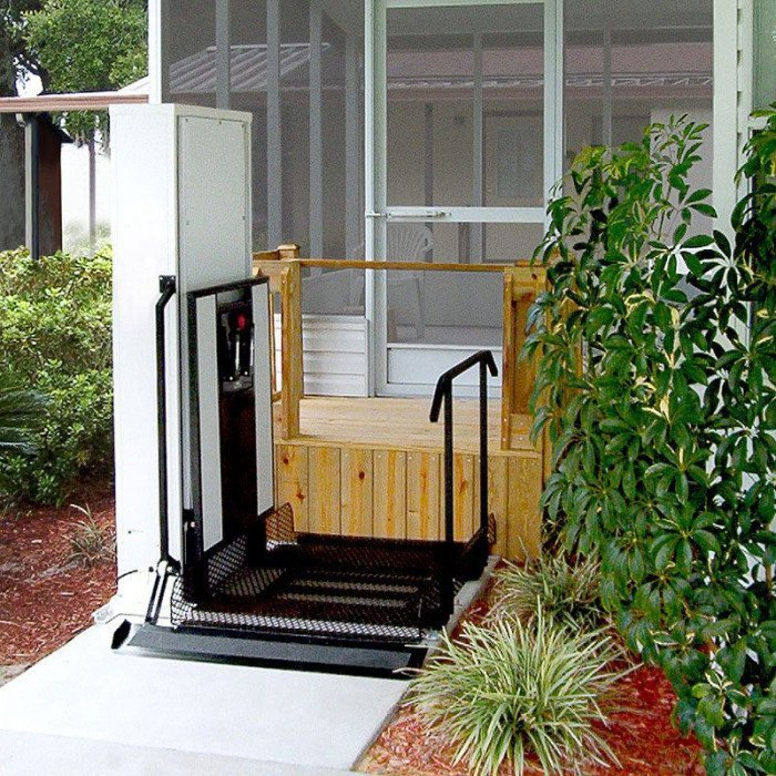 Wheelchair Lift · Vertical Platform Lift