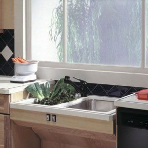 Approach Adjustable Sink Lift System - Handicap Accessible