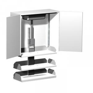 Verti Kitchen Cabinet Shelf Lift for wheelchair accessible kitchens