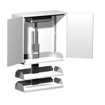Verti Kitchen Cabinet Shelf Lift for accessible kitchens