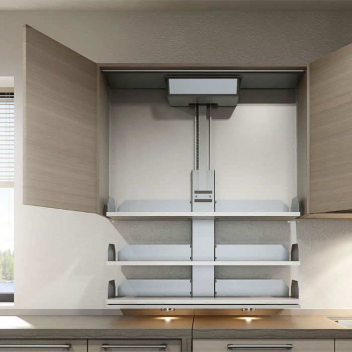 Verti Kitchen Cabinet Shelf Lift 15 39