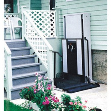"52"" Straight Right Access Wheelchair Porch Lift"